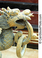dragons in the temple