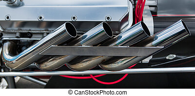 Dragster Exhaust System