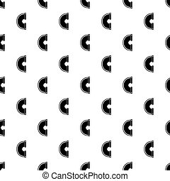 Drain pipe pattern vector