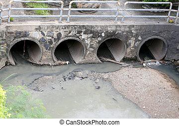 drain.