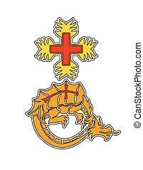 drak, symbol, řád