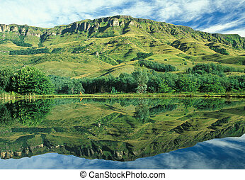 Drakensberg Reflection