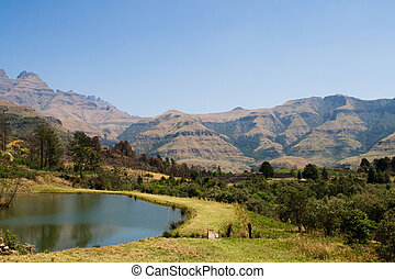 drakensburg, dél-afrika