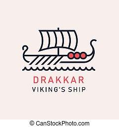 drakkar, bateau viking