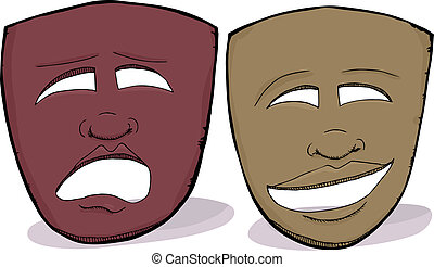 Drama, Máscaras, africano