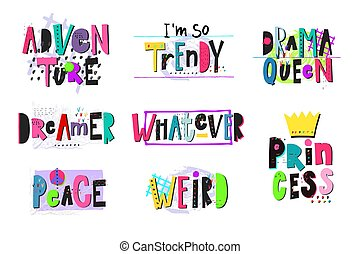 Drama Queen shirt quote lettering set - Drama Queen shirt ...