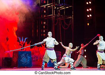 "drama, theater"", exposición, ""red, kungfu, kungfu"", más,..."
