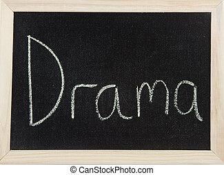 dramat, deska