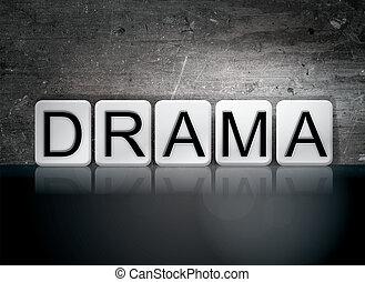 dramat, pojęcie, słowo, taflowy