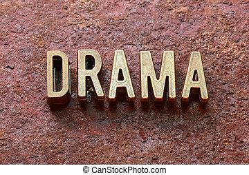 dramat, słowo, rdza