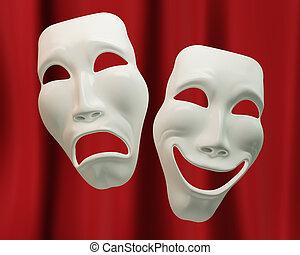 dramat, symbolika, komedia