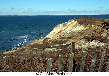 Dramatic Cliffs, Aquinnah Cliffs, Martha's Vineyard - ...