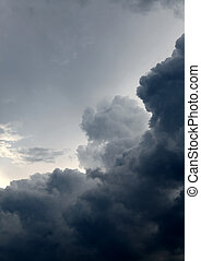 Dramatic Clouds Background - Natural Dramatic Clouds area ...