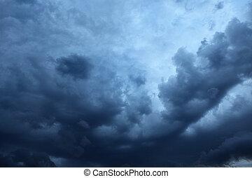 Cloudscape - Dramatic Cloudscape Area for Background