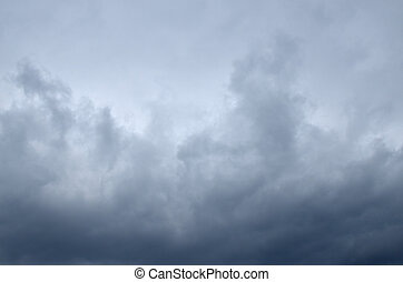 Dramatic Cloudscape as Background