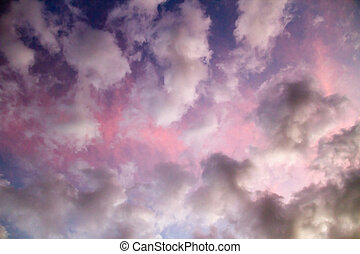 Dramatic, Colorful Sky