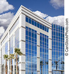 Dramatic Corporate Building Abstract