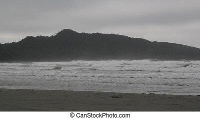 Dramatic ocean.