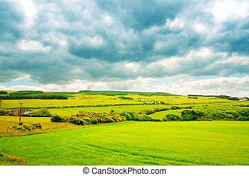 Dramatic Scottish landscape
