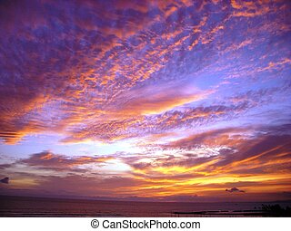 Dramatic Sky - Sky over Waikiki