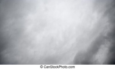 Dramatic Sky with dark stormy white