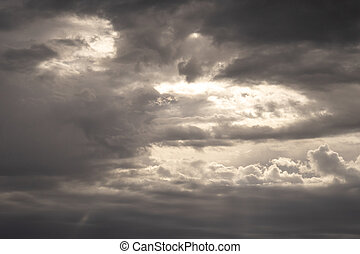 dramatic storm cloud sky background