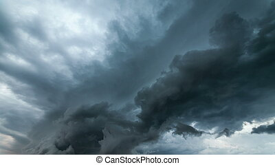 Dramatic storm sky background.