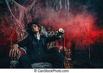 dramatic vampire man