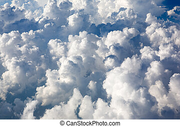 dramatique, nuages
