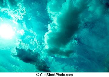 dramatische hemel