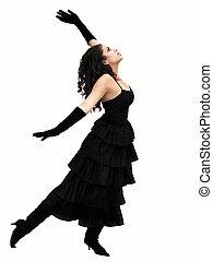 dramatisk, dansare