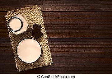 drank, melkchocolade