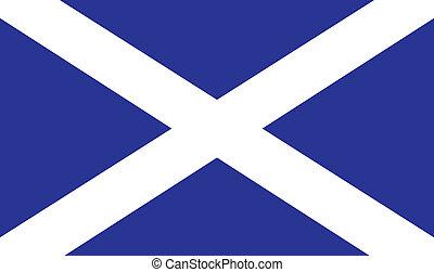 drapeau, écossais