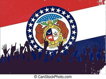 drapeau état, audience, missouri
