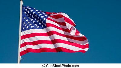 drapeau état, usa