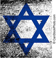 drapeau, étoile, israël