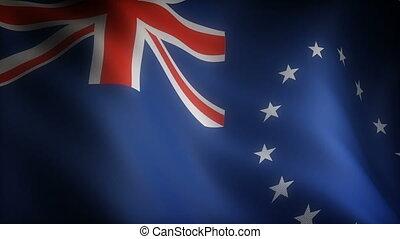 drapeau, îles, cuisinier