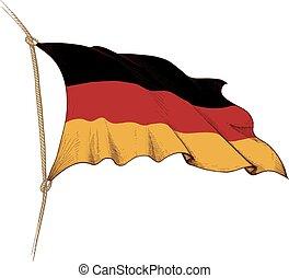 drapeau, allemagne