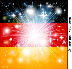 drapeau allemand, fond