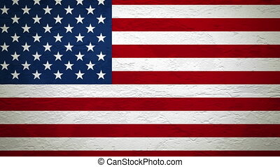 drapeau, alpha, explosion, usa, mur