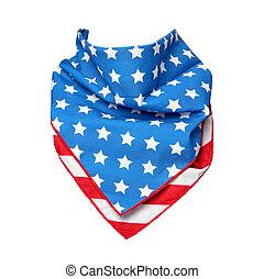 drapeau américain, bandana