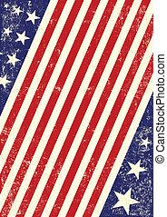 drapeau américain, fond, nous