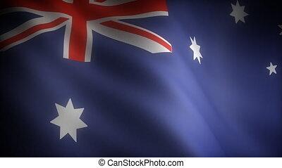 drapeau, australie, (seamless)