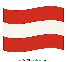drapeau, autriche