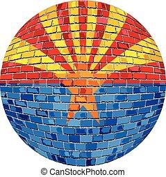 drapeau, balle, arizona