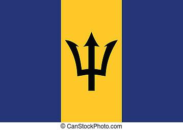 drapeau, barbade