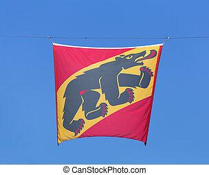 drapeau, berne