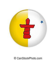 drapeau, bouton, nunavut
