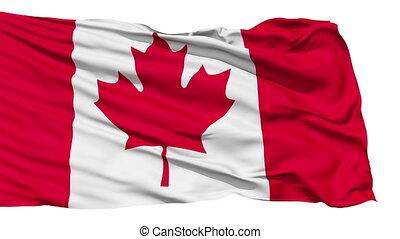 drapeau canada, battement des gouvernes