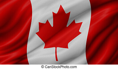 drapeau canada, fond